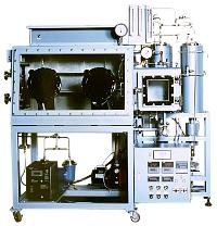 オプション組合せ例-1:組込型ガス循環精製装置(2塔),酸素計