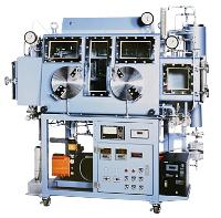 オプション組合せ例-2:真空乾燥室,コールドトラップ,組込型ガス循環精製装置(1塔),酸素計
